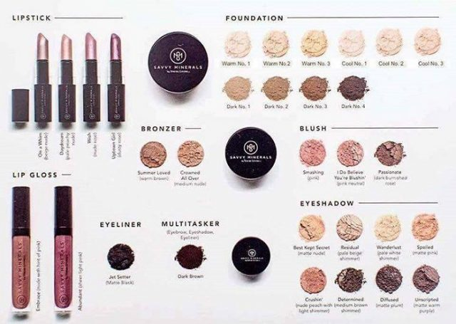 YL Savvy Minerals collection