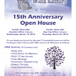 Health Naturally Open House