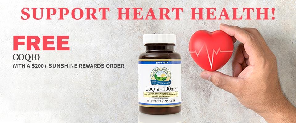 Support Heart Health Banner