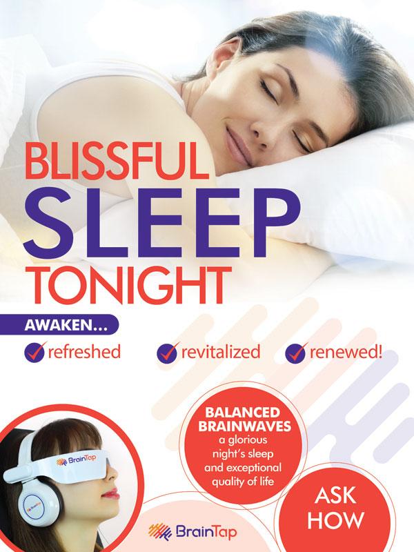 BrainTap Blissful Sleep