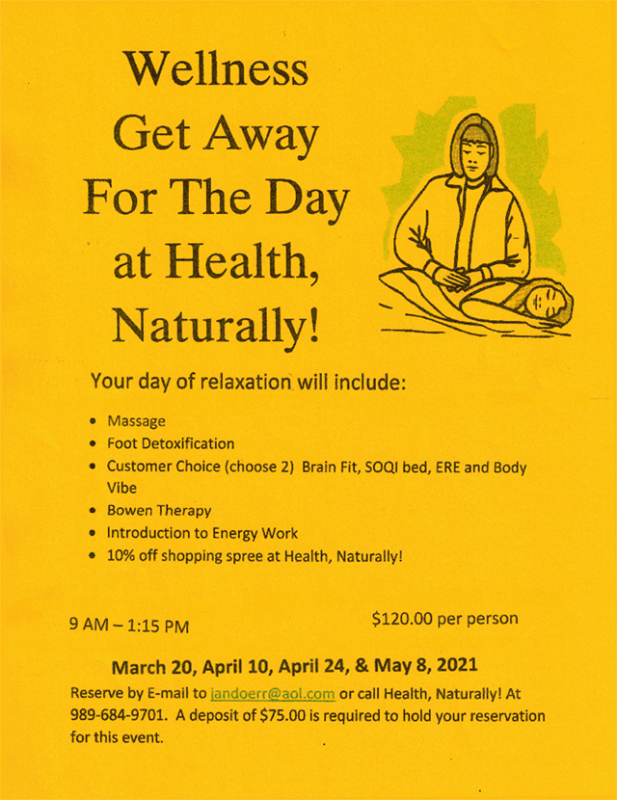 Wellness GetAway Spring2021